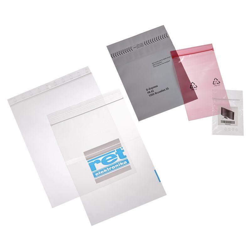 Fabricant de fabricant de sacs plastique zip qualité alimentaire