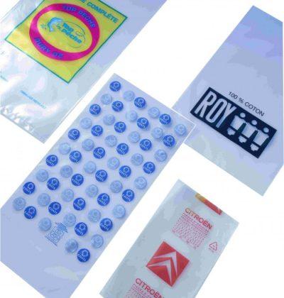 Acheter des sacs plastique simples sur mesure
